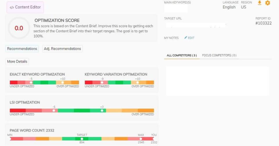 Page Optimizer Pro Score